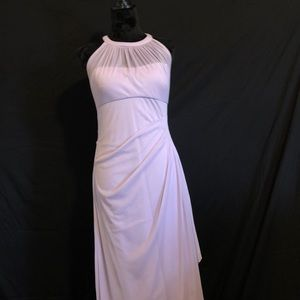 David's Bridal Lilac Colored Floor Length Dress